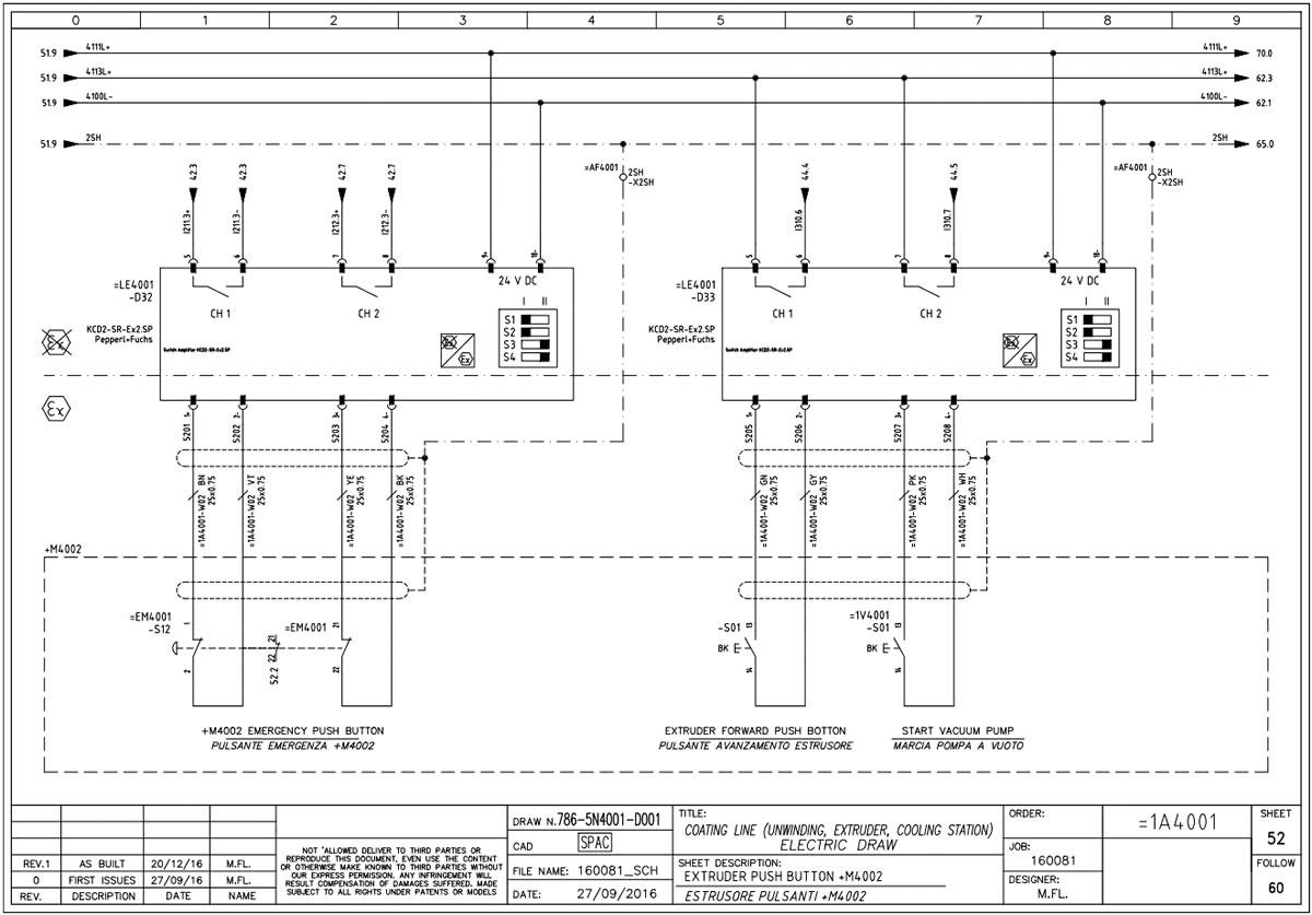 Schemi Elettrici Lettura : Schemi elettrici synergy automazioni